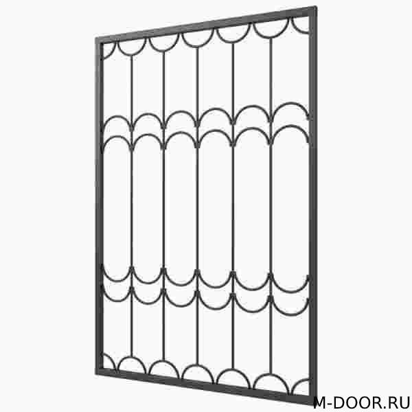 Решетка оконная стальная купить на заказ недорого