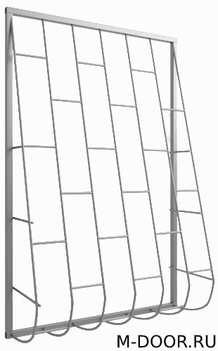 Дутая оконная решетка 003
