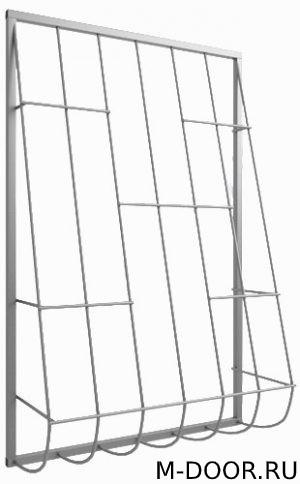 Дутая стальная оконная решетка 016