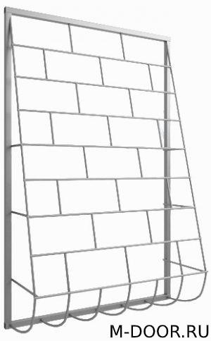 Стальная дутая оконная решетка 014 2