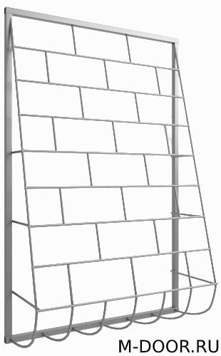 Стальная дутая оконная решетка 014