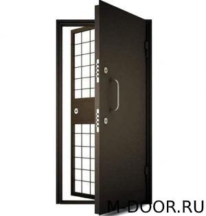 Металлическая дверь в комнату хранения наркотиков 1