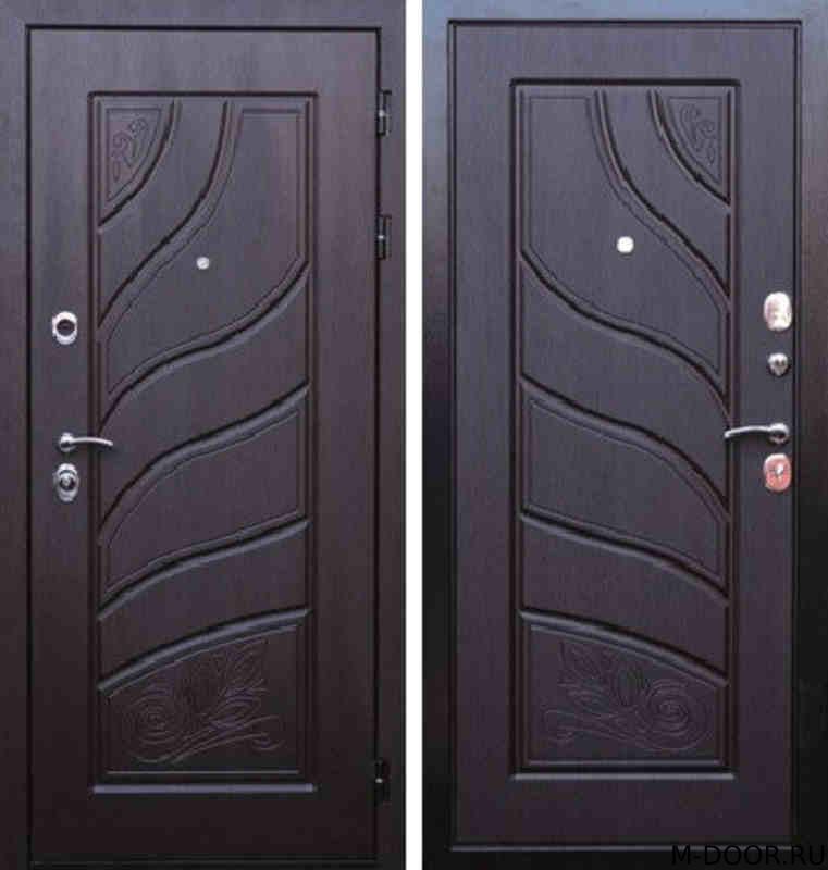 Входная дверь с терморазрывом в загородный дом
