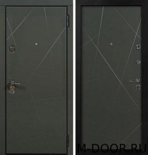 Входная стальная дверь Клео с отделкой МДФ (ПВХ) 2