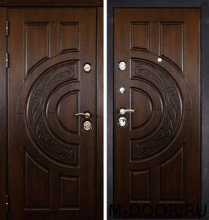 Входная стальная дверь Луна МДФ (ПВХ) 1