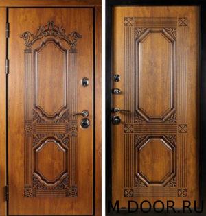 Стальная входная дверь Император МДФ (ПВХ) 17