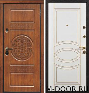Стальная дверь Асель с отделкой МДФ с двух сторон 3