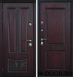 Дверь входная стальная Заслон с отделкой МДФ 19