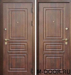 Стальная дверь Лондон с отделкой МДФ (ПВХ) 4