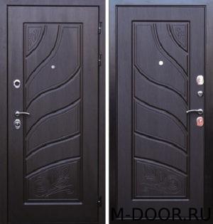 Стальная входная дверь Иллюзия с отделкой МДФ (ПВХ) 15