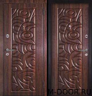 Дверь металлическая уличная Жар-птица МДФ Винорит с двух сторон 10