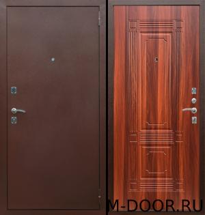 Утепленная стальная дверь Италия порошковое напыление и МДФ 2