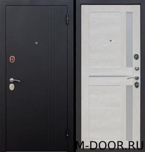 Утепленная металлическая дверь Умка порошковое напыление и МДФ 1