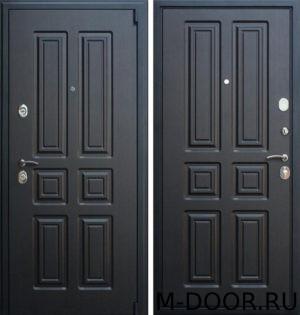 Входная дверь с отделкой МДФ(Винорит) с двух сторон 1