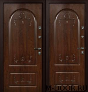 Стальная уличная дверь Падишах МДФ Винорит с двух сторон 8