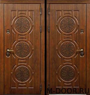 Дверь стальная уличная Верона МДФ Винорит с двух сторон 3