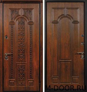 Дверь с терморазрывом стальная Рафаэль МДФ Винорит 3