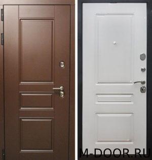 Дверь уличная с терморазрывом Невада МДФ Винорит 5