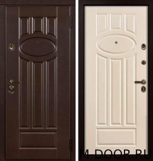 Дверь стальная с терморазрывом Генрих МДФ Винорит 4