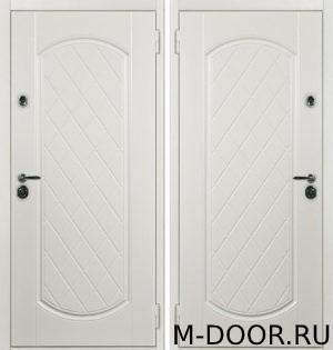 Стальная входная дверь с терморазрывом Валенсия МДФ Винорит 1