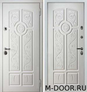 Входная стальная дверь с терморазрывом Рапсодия МДФ Винорит 14