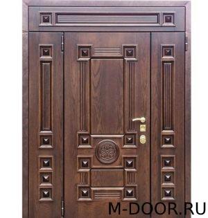 Парадная стальная дверь Цезарь МДФ (Винорит) 1