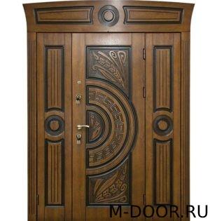 Парадная стальная дверь Греция МДФ (Винорит) 3