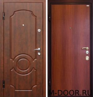 Стальная дверь Граф с отделкой МДФ и ламинат 5