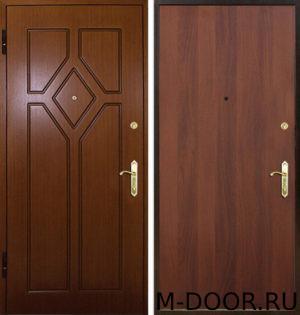 Дверь стальная Колизей с отделкой МДФ и ламинат 2
