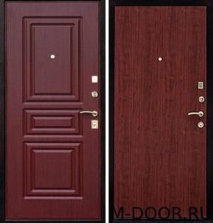 Входная дверь металлическая Бремен с отделкой МДФ и ламинат 2
