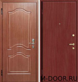 Дверь металлическая Маркиз с отделкой МДФ и ламинат 1