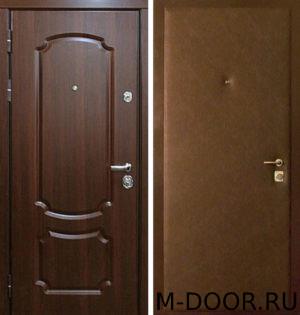 Металлическая дверь Барон с отделкой винилискожа и МДФ 3