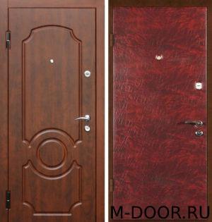 Дверь стальная Легион с отделкой винилискожа и МДФ 1