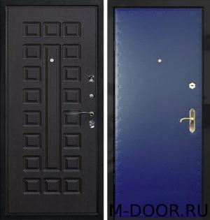 Дверь стальная Логика с отделкой винилискожа и МДФ 1