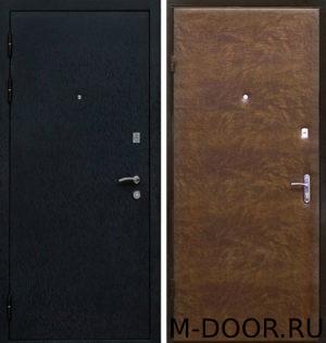 Металлическая дверь Основа порошковое напыление и винилискожа 1