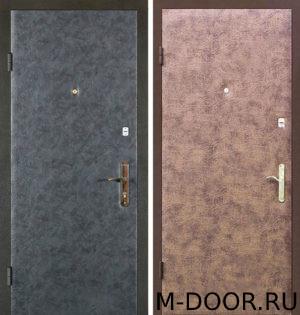 Стальная дверь Горацио с винилискожей с двух сторон 3