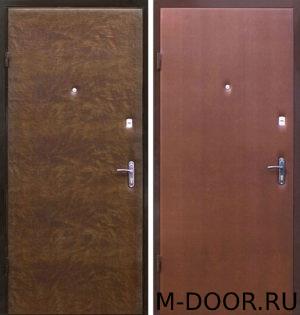 Стальная дверь Квинкс с винилискожей с двух сторон 1