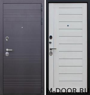 Металлическая дверь с шумоизоляцией Линия МДФ с двух сторон 1