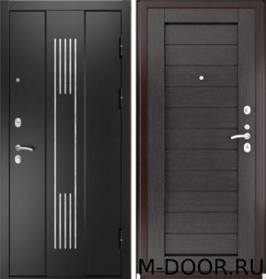 Стальная дверь с шумоизоляцией Дижон порошковое напыление и МДФ 5
