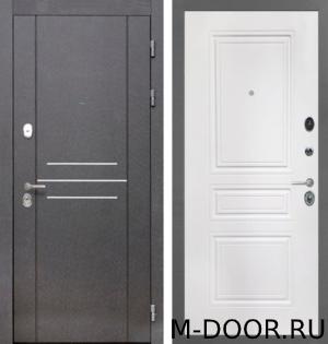 Дверь стальная с шумоизоляцией Консул МДФ с двух сторон 12