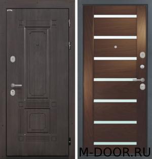 Металлическая дверь с шумоизоляцией Кипр МДФ с двух сторон 4