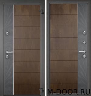 Стальная дверь в загородный дом Оплот МДФ с двух сторон 4