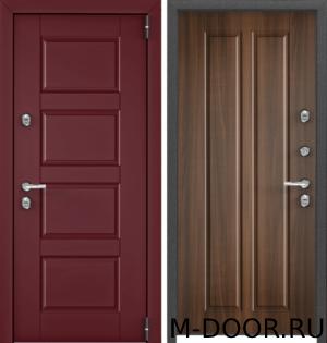 Стальная входная дверь в загородный дом Цюрих с отделкой МДФ (Винорит) 1
