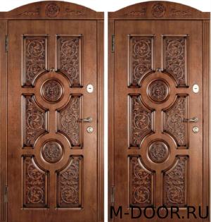Дверь металлическая в квартиру Мистика с отделкой МДФ 1