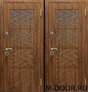 Дверь стальная в квартиру Уэльс с отделкой МДФ 4