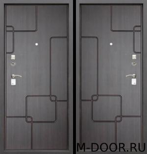 Стальная дверь в квартиру Алмаз с отделкой МДФ 2